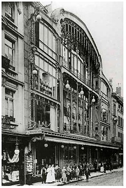 Batiment Horta - rue Neuve - 1901