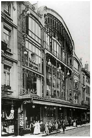 L'Innovation Department Store fire - The Innovation store, pictured soon after its construction in 1901.