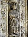 Bazas (33) Cathédrale Saint-Jean-Baptiste Façade ouest Portail central 2ème voussure 12.JPG