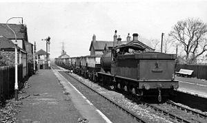 Bebside railway station - Image: Bebside railway station 1775295 52c 672df