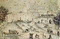 Bedrijvigheid aan Het Bat, Maastricht, nabij OLV-poort (1846).jpg