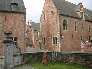 Groot Begijnhof, Leuven - Two streets in the Beguinage of Leuven.
