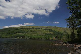 Beinn an Fhogharaidh mountain in Stirling, Scotland, UK