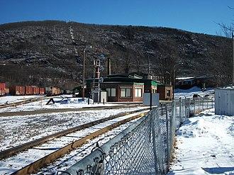 Bellows Falls station - Image: Bellows Falls Amtrak