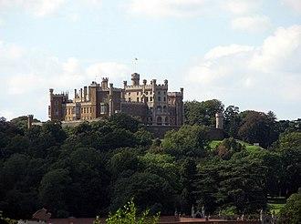 Vale of Belvoir - View of Belvoir Castle (from Woolsthorpe by Belvoir)