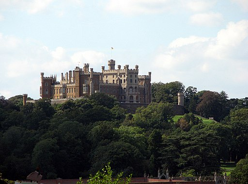 Belvoir Castle seen from Woolsthorpe by Belvoir - geograph.org.uk - 1772528