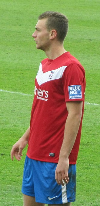 Ben Gibson - Gibson playing for York City in 2012