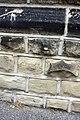 Benchmark on Holy Rood Church - geograph.org.uk - 2560952.jpg