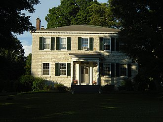 National Register of Historic Places listings in Herkimer County, New York - Image: Benjamin Bowen House Jul 10