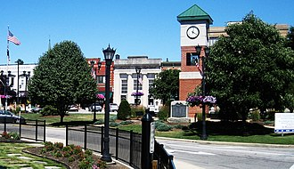 Berea, Ohio - Triangle area of downtown Berea