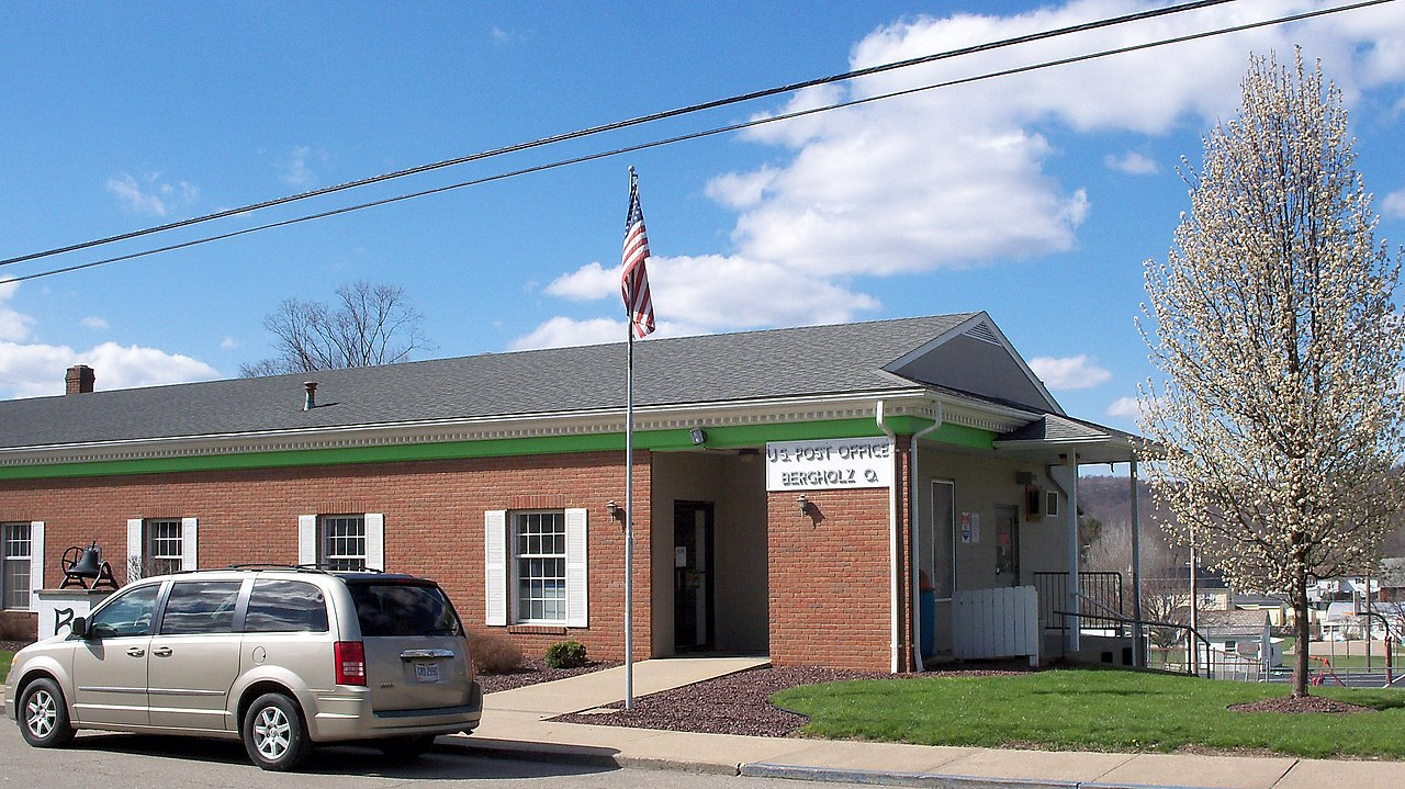 Ohio jefferson county bergholz - File Bergholz Ohio Post Office Jpg