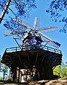 Bergi Ethnografisches Museum Bergi Vidzeme Windmühle 09.JPG