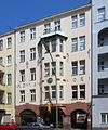 Berlin, Schoeneberg, Monumentenstrasse 35, Hofkunstschlosserei Paul Markus.jpg