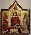 Bernardo daddi, madonna tra s. caterina e s. zanobi coi donatori, 1325-50 ca.JPG