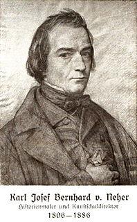 Bernhard von Neher German painter