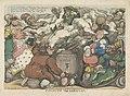 Beroking van de Corsicaan, 1813 Funcking the Corsican (titel op object), RP-P-1908-2216.jpg