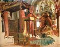 Bertalan Szekely coronation of Franz Josef I in matthias church 1867 IMG 0246.JPG