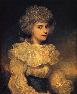 Elizabeth Cavendish, Duchess of Devonshire - Bess in 1787, painted by Sir Joshua Reynolds