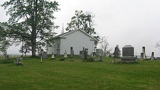 National Register of Historic Places listings in Fountain County, Indiana - Image: Bethel Church and Graveyard