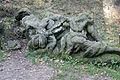 Betlém u Kuksu - torzo sochy Svatého Jana Křtitele na poušt.jpg
