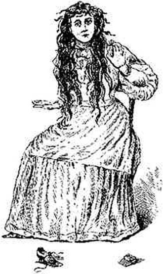 Bell Witch - An artist's drawing of Betsy Bell, originally published in 1894