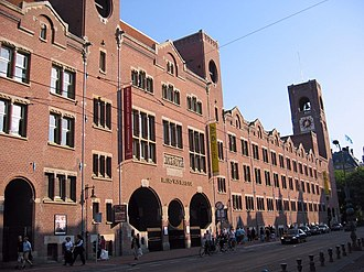 Hendrik Petrus Berlage - The Beurs van Berlage (Amsterdam Commodities Exchange)