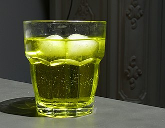 Citron - Cedrata, a citron soft drink from Italy