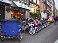 Bikes on a 'Party friday(28-5-2010)' in soho of london..jpg