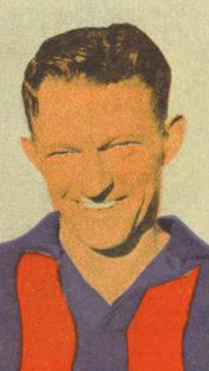 J. J. Liston Trophy - 1946 winner Bill Findlay
