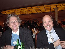 Bill Joy and Paul Saffo at World Economic Forum (Davos)--2003-01-20.jpg