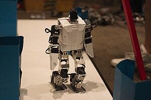 Robotis Bioloid - Humanoid robot constructed using the Bioloid kit