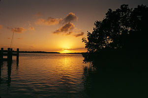 Biscayne National Park H-adams key sunset.jpg