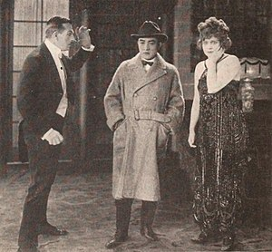 Henry Herbert (actor) - Henry Herbert, Sessue Hayakawa, and Myrtle Stedman in Black Roses (1921).