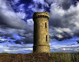Oakley, Fife - Image: Blair tower, Oakley geograph.org.uk 1468581