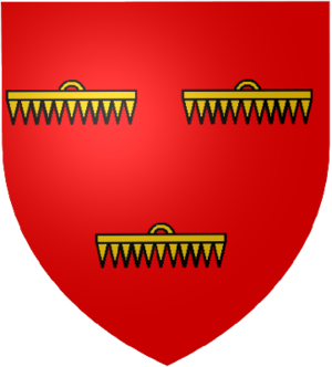Louis I, Count of Nevers - Image: Blason Rethel