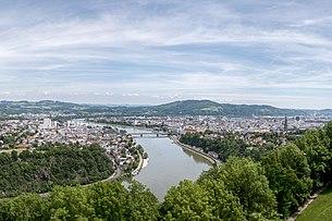Linz, from the Franz-Josefs-Warte