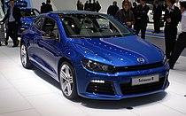 Blue VW Scirocco III R fr IAA 2009.JPG