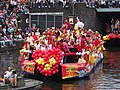 Boat 61 Circus Herman Renz, Canal Parade Amsterdam 2017 foto 2.JPG