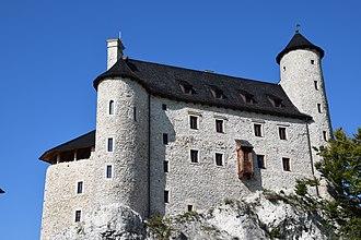 Gothic architecture in modern Poland - Image: Bobolice, Zamek (II)