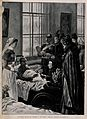 Boer War; Queen Victoria presenting flowers to a wounded sol Wellcome V0013881.jpg