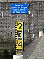 Boerengatbrug - Rotterdam - Clearance gauge.jpg