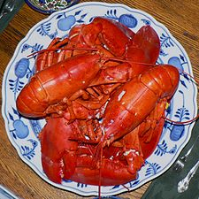 Boiled Maine Lobster