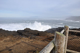 Boiler Bay State Scenic Viewpoint State park in Oregon, USA