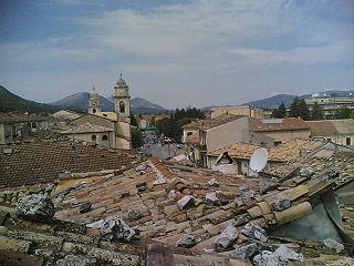 Bojano Comune in Molise, Italy