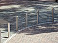Bollards in Haringey London England 2.jpg