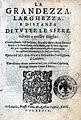 Bonardo, Giovanni Maria – Grandezza, larghezza e distanza di tutte le sfere, 1589 – BEIC 4295665.jpg