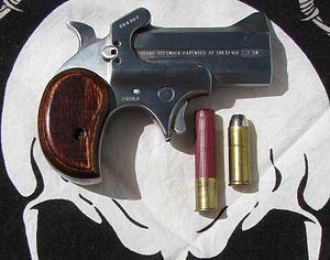 Bond Arms - Bond Arms Texas Defender Cowboy .45 Colt/.410 Shotshell Derringer