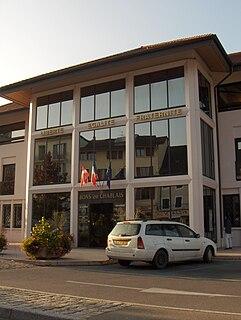 Bons-en-Chablais Commune in Auvergne-Rhône-Alpes, France