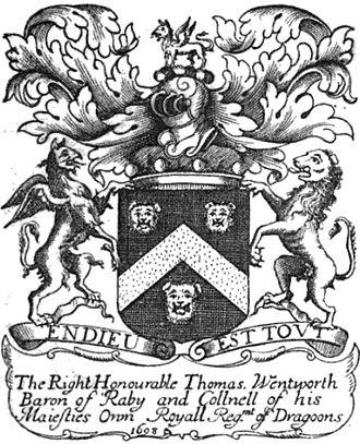 Thomas Wentworth, 1st Earl of Strafford - Castle