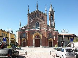 Borgo San Giovanni - The parish church